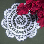 Bruges Crochet Pattern - Camille Doily