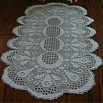 Free Crochet Pattern For Table Runner Crochet And