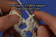 Video - Decrease 1 Filled Square