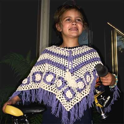 Girls Crochet Poncho Patterns