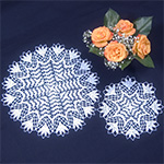 Delta Crochet Doily Patterns