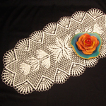 Delta Crochet Table Runner Pattern